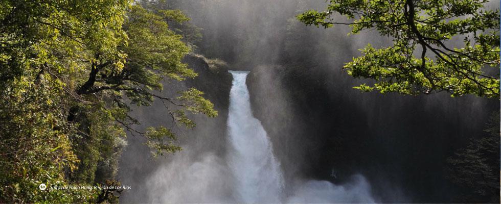 Saltos de Huilo Huilo, Región de Los Ríos